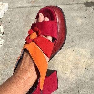 Unique unicorn Shelly's London Sandals